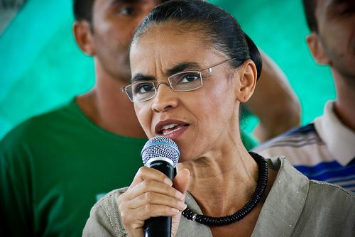 Marina Silva, candidate à la présidence du Brésil